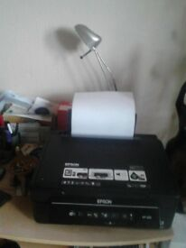 Epsom 202 wireless printer, scanner as.new with some ink cartridges, and disc. £30