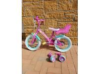 Girls bike 3yrs +