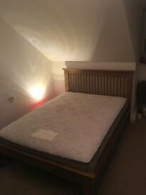 4 Double Beds - Mattress & Base, Good Condition For Sale.