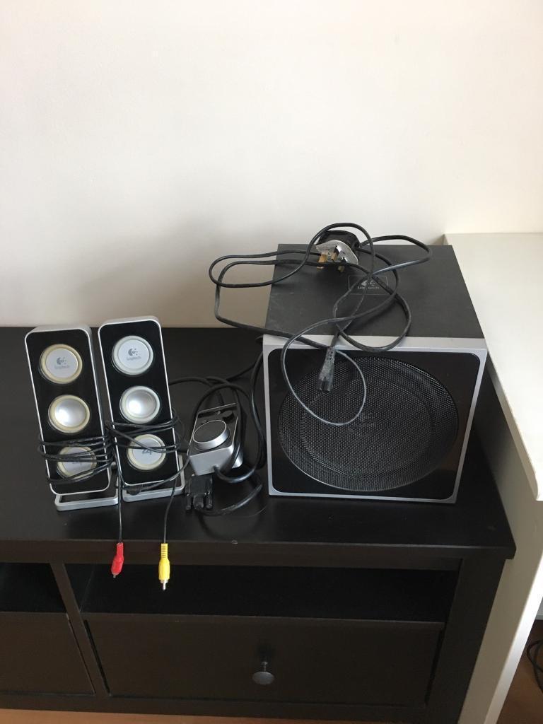 Logic Z4 Speaker system