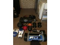 For Sale barely used full personal training kit.