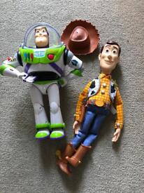 Woody and buzz toy story