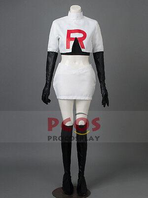 Pocket Monster / Pokemon Team Rocket Jessie Cosplay Costume mp002221](Team Rocket Cosplay)
