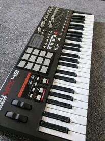 YAMAHA ELECTONE HX1 SYSTEM 2 ORGAN WITH MDR3 DISK DRIVE, RAM PACKS