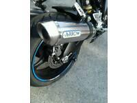 twin arrow exhaust for gsxr1000 k7/8