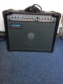 Laney Linebacker 50 reverb amplifier