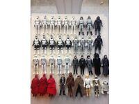 Vintage Star Wars figures x 37