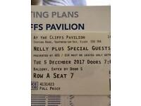 2 x Nelly Tickets for Cliffs Pavilion 5/12/17