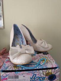 Irregular Choice Wedding Shoes Size 5