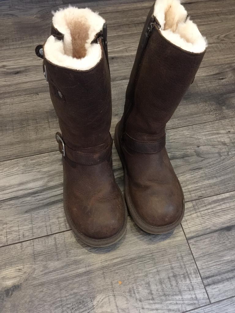 Genuine Kids Ugg Kensington Boots Size 13