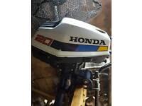 Honda outboard 2hp four stroke
