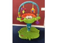 Fisher-Price bounce and spin froggy.
