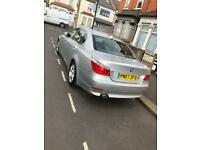 BMW 5 series 520d Silver 2007 - Good Condition