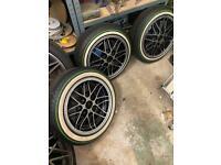 Original Rare Cosmic Wheels 15inch 4 x 130