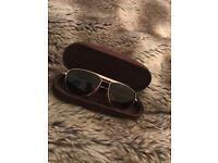 Tom Ford Aviator Gold Frame Sunglasses £45