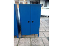 Ikea busunge blue bedroom furniture,.. 2 wardrobes and 1 chest of draws