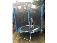 Trampoline - free to anyone who can dismantle and collect