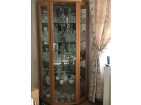 Large Display Cabinet with internal light