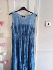 klass size 18 summer dress bnwt
