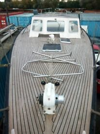 Bowman 46 Yawl centre cockpit sailing yacht, GRP, 1982, PRICE REDUCED!!