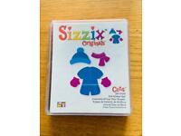 Sizzix original doll winter clothes die cutter