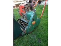 Suffolk self propelled mower plus spares