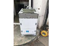 (ex dispaly) Beko DIS15010 45 cm Slimline Integrated Dishwasher
