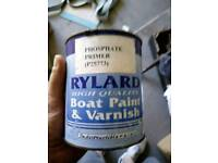 Boat paint and varnish