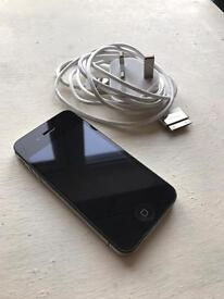 Apple iPhone 4s with Belkin charger