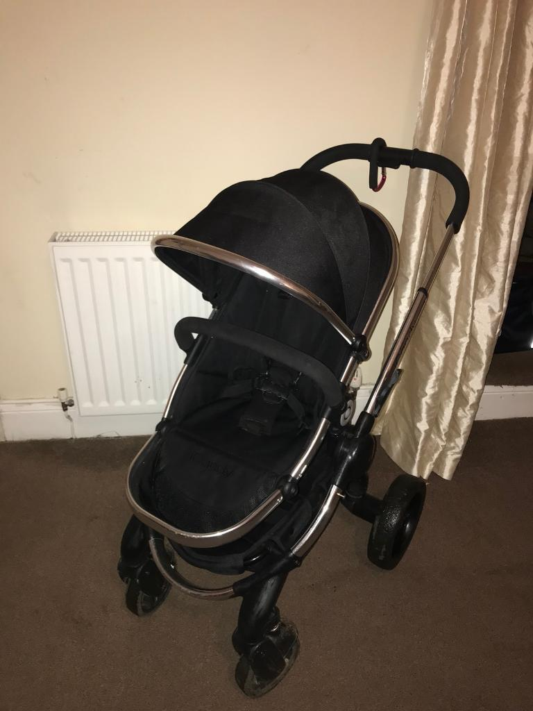 ICandy peach 2 black magic with carrycot