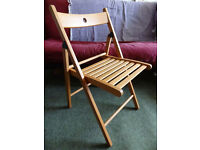 Used folding chair/s