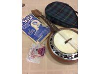 Eight string banjolin