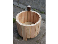 PLANTERS, ALL NATURAL, UNTREATED LARCH, VARIOUS DESIGNS AVAILABLE