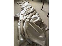 HUGE PIECE OF LUXURY DESIGNER FABRIC - 14 meters / double width / curtain project (Battersea London)