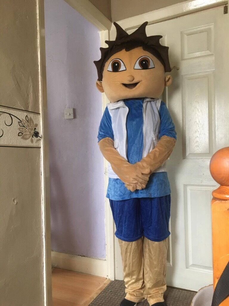 Adult mascot costume(brand new never used)