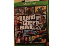 For Sale XBOX ONE GTA5