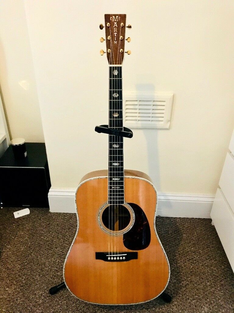 Martin D 41 Acoustic Guitar With Fishman Matrix Pickup Rrp On An Electric Bass Or 4000