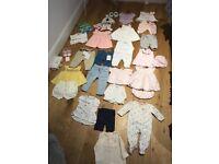 Baby Girls Baby Bundle - 0-3m 3-6m 6-9m Babidu, Baby Baker, Lili Gaufrette, I Do, The White Company