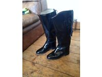 Leather Riding Boots