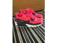 Nike Air Max Pink and Grey size 4
