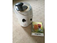 Le Duo Magimix Juicer. Juices both fruit and vegetables.