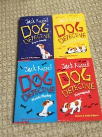 Jack Russell Dog Detective books.