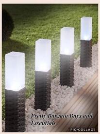 Rattan Solar Lights