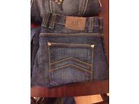 Branded Jeans Robin USA Jasper Conran Armani 32 Regular