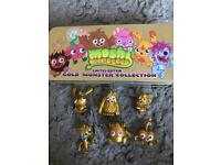 Moshi Monsters limited edition gold monster collection
