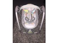 Ingenuity baby swing (practically brand new)