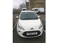 FORD KA EDGE 1.2 2012 ,12,MONTH MOT 48K ALLOYS 2 OWNERS £20 YEAR TAX