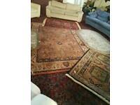 Quality keshan hand made wool rugs