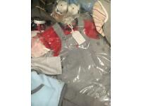 Joblot Of brand new baby clothes over 80 items