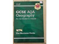 NEW GCSE 9-1 AQA GEOGRAPHY CGP REVISION GUIDE TEXTBOOK